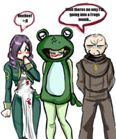 + Dissing The Frog + by demoness