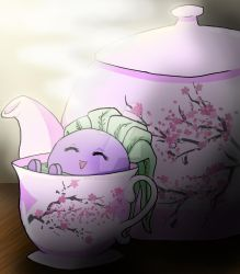 Oddish Teacup by amahakianangel