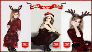 Christmas pack PSD Effects. by Mjzo