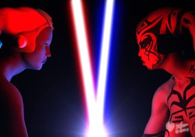 Face to Face by darthhell