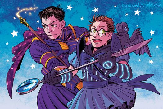 K-Scouts Newt and Hermann by FerioWind