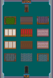 RPG Maker VX/Ace - 16-Bit Wall Collection 1 by Luiishu535