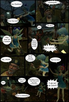 Left 4 Cirno Page 2 by Saiyanjedi
