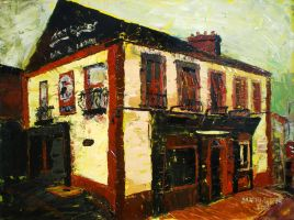 Nancy Whiskey's, The Pubs of Dun Laohaire by danielcormier