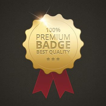 Create a Golden Badge in Photoshop by Graphicadi