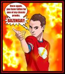 Beware of the BAZINGA 2 by deanfenechanimations