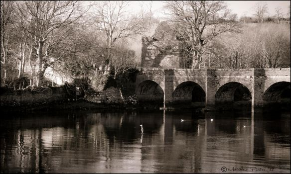 Castle bridge Inishowen by xxpoochiexx