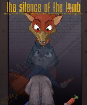 Zootopia / Silence of the Lambs Crossover #1 by MattesWorks