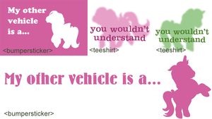 Working Bumperstickers by colormist
