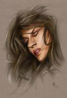 Woman color by abraun