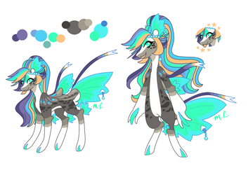 Pearlescent's New Design Ref by CheriPearl