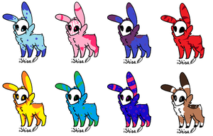 SkullFuzzy Adopts 2~ 20 Points Each! by MapleMadnessAdopts
