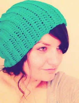 Slouchy hat by Orlien
