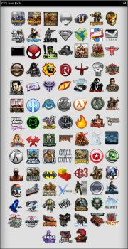 gf icon pack v4 by Gotchaforce