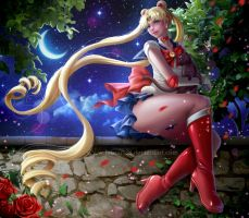 Sailor Moon by Laurart88