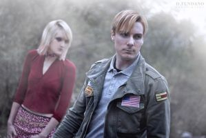 Silent Hill 2 - James and Maria Cosplay by Galactic-Reptile