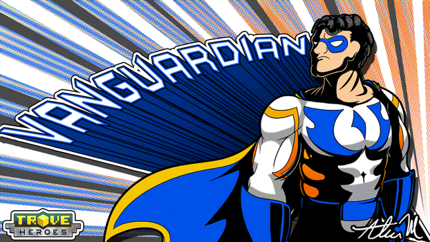 [Trove] Vanguardian Pop Art by SkyTheVirus