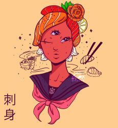 Sashimi Girl by WePePe