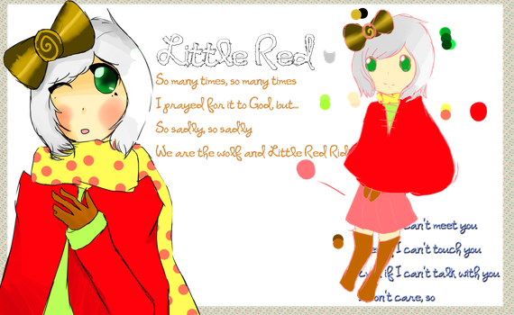 :: OC : Little Red :: by xMikadzuki