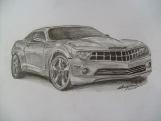 Chevrolet Camaro 2009 by sao96