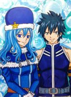 Gray x Juvia: Ice and Water by dagga19
