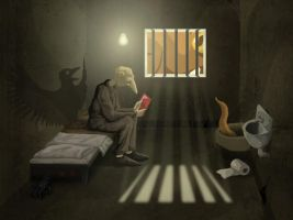 The Prison Cell 3 by JenTheThirdGal