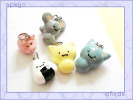 clay charm practice set by apkyo