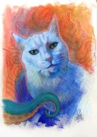 The White Cat of R'lyeh by zyphryus