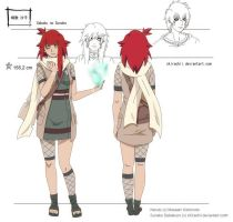 Sabakuno Sunako Reference sheet - 12 yrs by SeelenKaetzchen