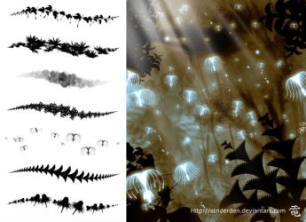 Avatar Based Flora Brushes by StriderDen