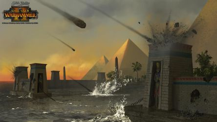 Tomb Kings Harbor by EthicallyChallenged