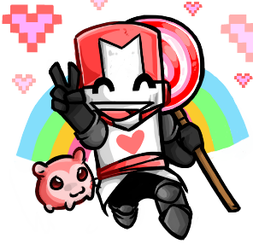 Pink Knight by Shurvey