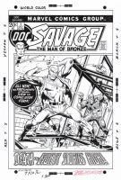 DOC SAVAGE (Marvel) #1 Cover Recreation -Hazlewood by DRHazlewood