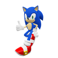 Sonic the Hedgehog Render (Update) by Detexki99