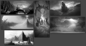Environment Thumbnails by Dhex