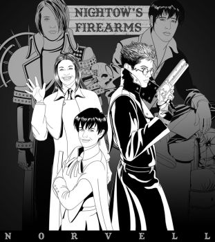TRIGUN - Nightow's Firearms by DaleNorvell