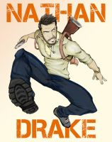 Patrick Brown's Nathan Drake by mispeld