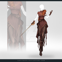 (CLOSED) Adoptable Outfit Auction 317 by JawitReen