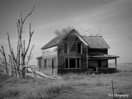Abandon Prairie Series II by erbphotography