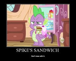 Spike's Sandwich by Maggie-X-Awesomeness