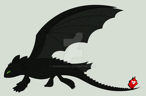 Toothless by SummerGal7