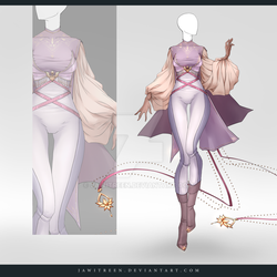(CLOSED) Adoptable Outfit Auction 264 by JawitReen
