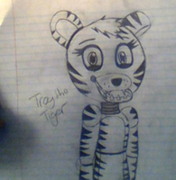 .:Troy the Tiger:. REQUEST #4 by KelseyXCody