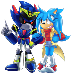 [EVENT] The Crime 'Fighting' Duo by Sonicbandicoot