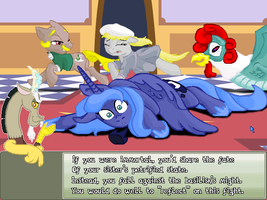 Luna's Quest  Death by Basilisk by herooftime1000