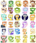 all the daily cats by Caia-Mei