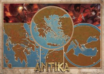 Antika RPG Greek world and myths Color Map by DePassage