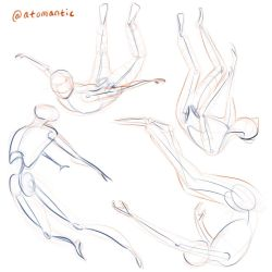 Falling Studies by atomantic