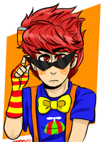 Trickster Dirk by CocoaDeSi