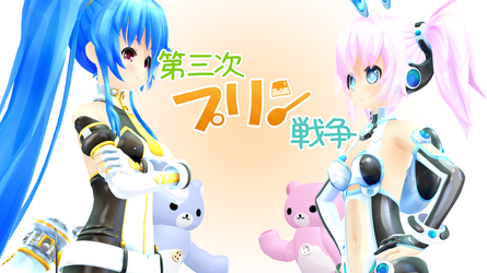 [MMDVideo] Third Pudding War!!! by CinnamonBunBunny